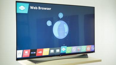 LG UF9500 Design