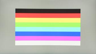 ASUS TUF Gaming VG27WQ1B Color Bleed Horizontal