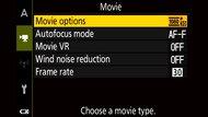 Nikon COOLPIX A1000 Screen Menu Picture