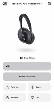 Bose 700 Headphones Wireless App Picture
