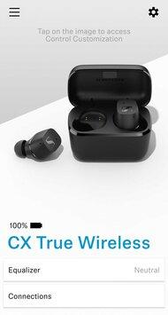 Sennheiser CX True Wireless App Picture