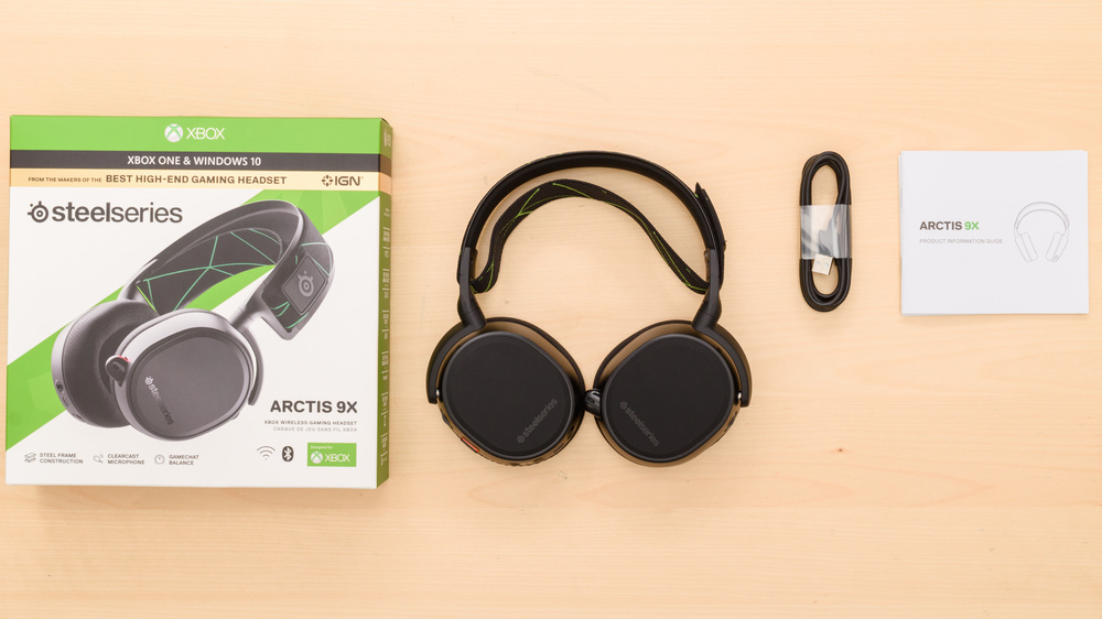 SteelSeries Arctis 9X Wireless In the box Picture