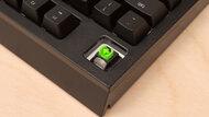 Razer BlackWidow Build Quality Close Up