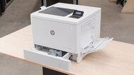 HP Color LaserJet Enterprise M553dn Build Quality Close Up