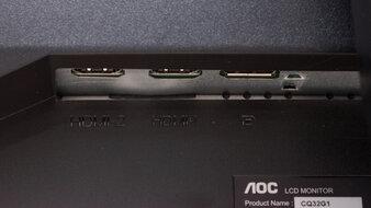 AOC CQ32G1 Inputs 1