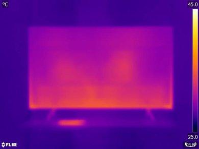 Samsung MU8500 Temperature picture