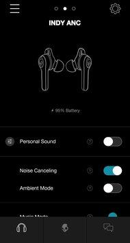 Skullcandy Indy ANC True Wireless App Picture
