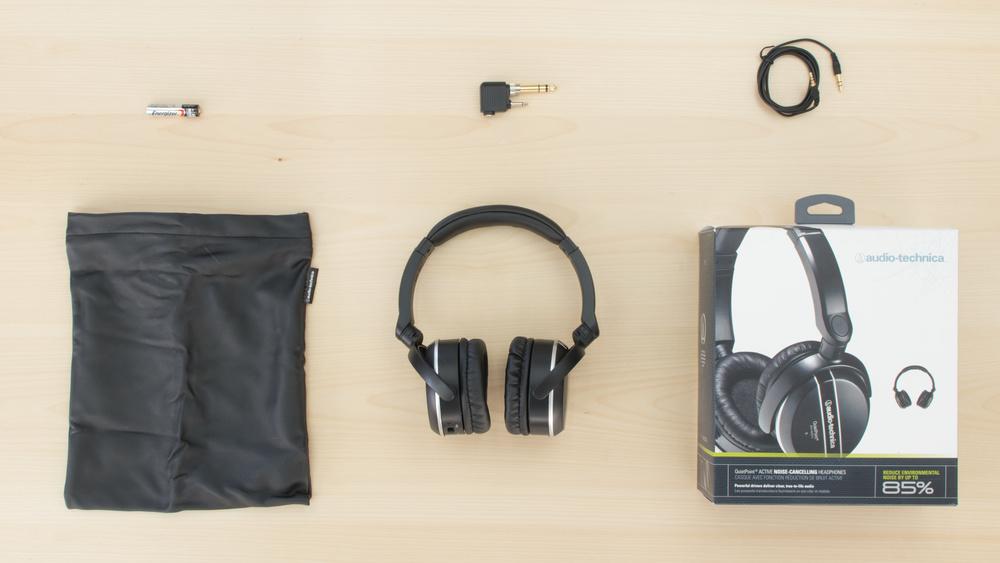 Audio-Technica ATH-ANC27x In the box Picture