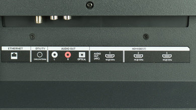 Vizio M Series 2015 Rear Inputs Picture