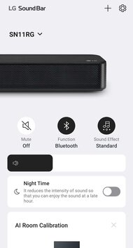 LG SN11RG App image