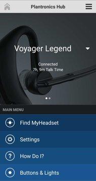 Plantronics Voyager Legend Bluetooth Headset App Picture
