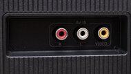 Hisense H6570G Rear Inputs Picture