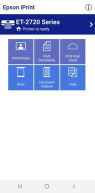 Epson EcoTank ET-2720 App Printscreen