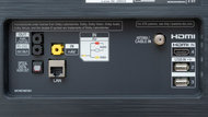 LG B9 OLED Rear Inputs Picture