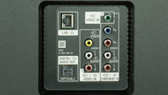 Sony X810C Rear Inputs Picture