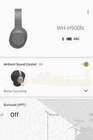 Sony WH-H900N/h.ear on 2 Wireless App Picture