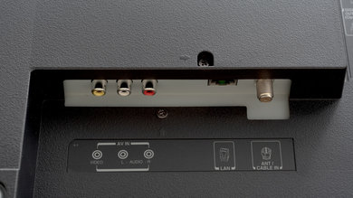 Toshiba Fire TV 2019 Rear Inputs Picture