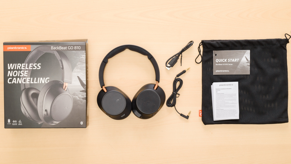 Plantronics BackBeat Go 810 Wireless In the box Picture