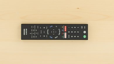 Sony X940E Remote Picture