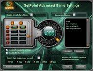 Logitech G5 Software settings screenshot