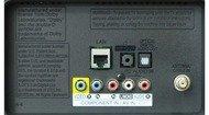 LG LA6200 Rear inputs