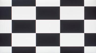 Dell U2715H Checkerboard Picture