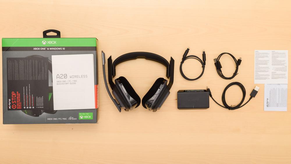 Astro A20 Wireless In the box Picture