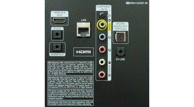 Samsung F6300 Rear inputs
