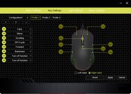 DELUX M627 Software settings screenshot