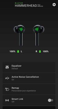 Razer Hammerhead True Wireless 2021 App Picture