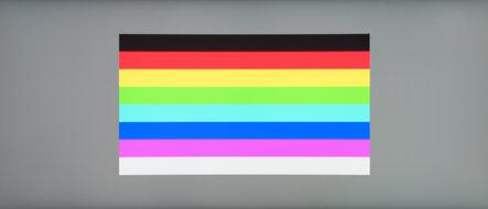 LG 38WN95C-W Color Bleed Horizontal
