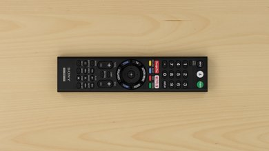 Sony X800E Remote Picture