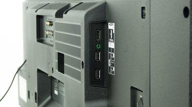 Sony W800B Side Inputs