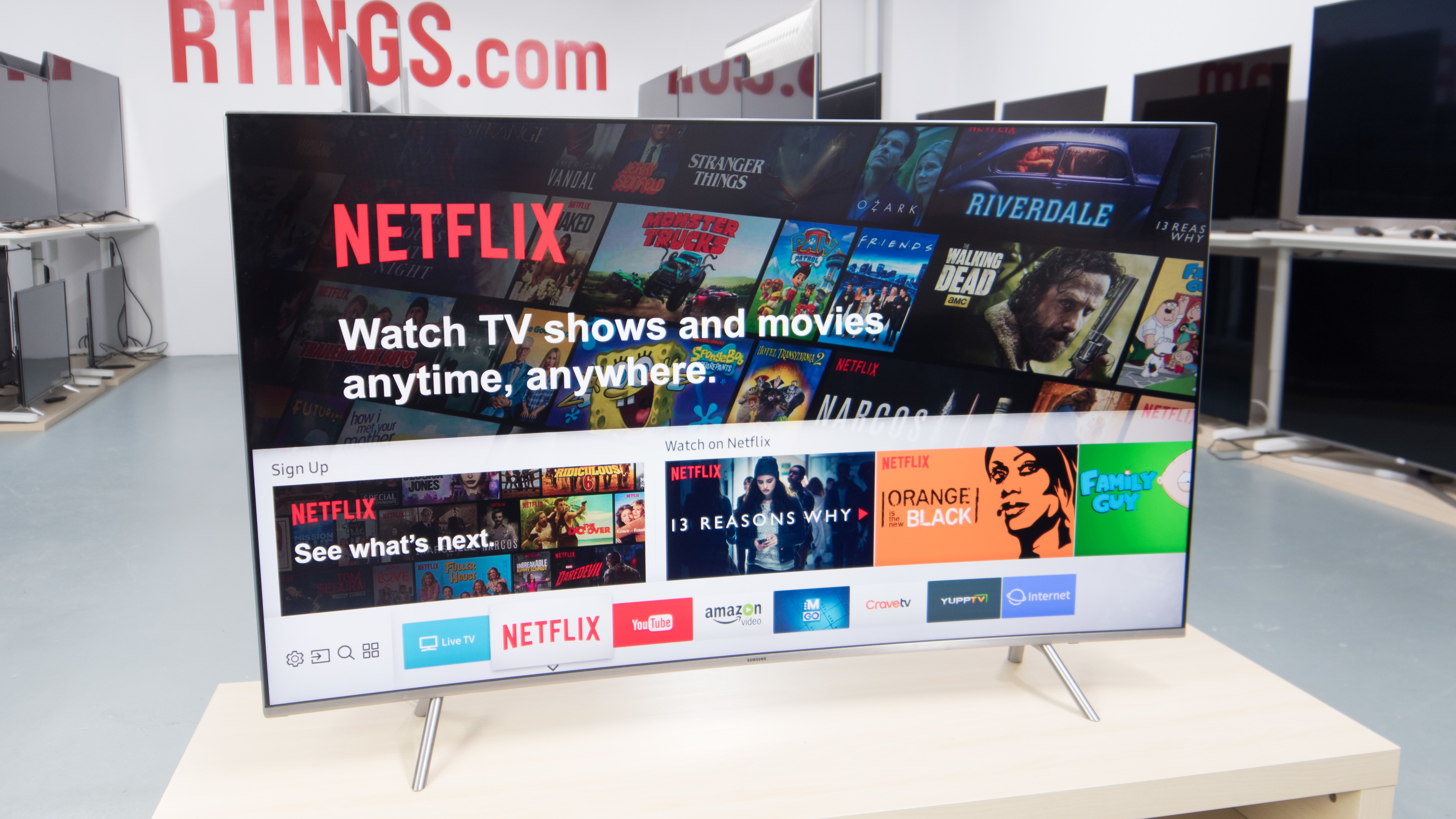 Curved vs Flat TVs: Is the curve worth it? - RTINGS com