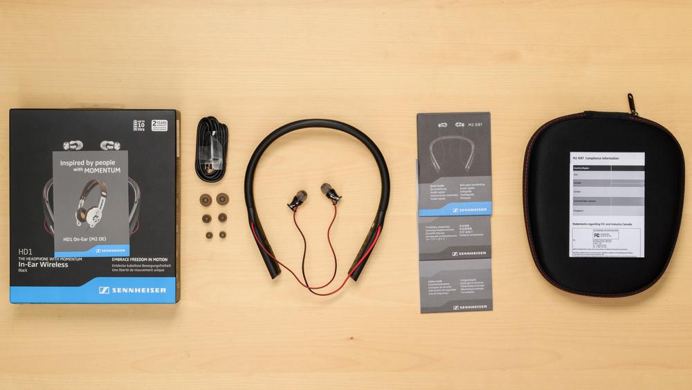 Sennheiser HD1 In-Ear Wireless In the box Picture