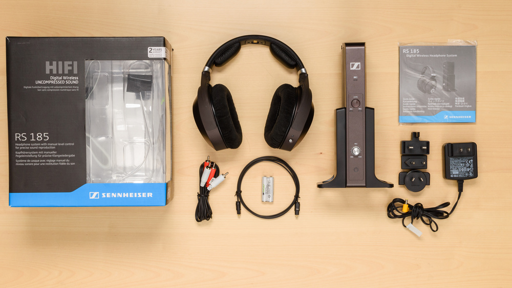 Sennheiser RS 185 In the box Picture