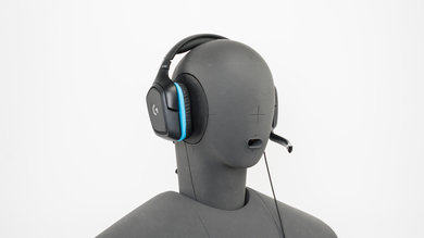 Logitech G432 Gaming Headset Angled Picture