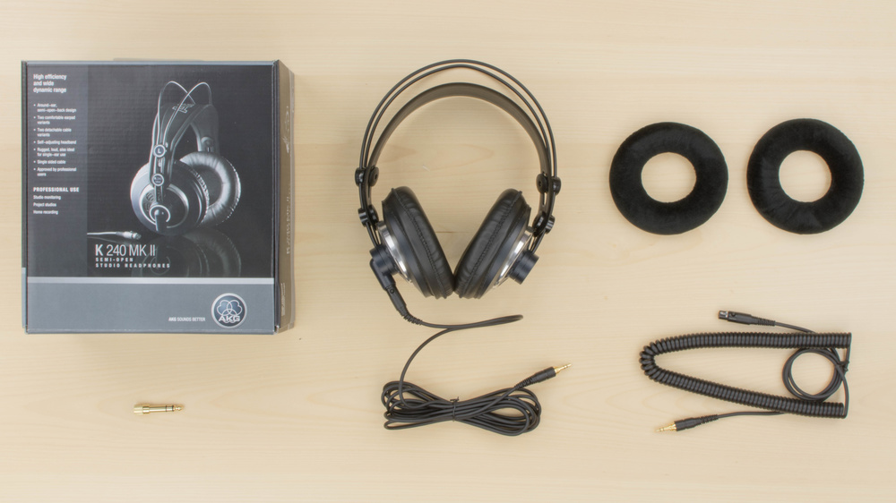 AKG K240 MKII In the box Picture