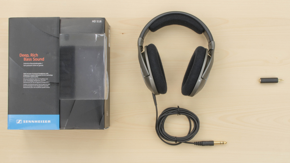 Sennheiser HD 518 In the box Picture