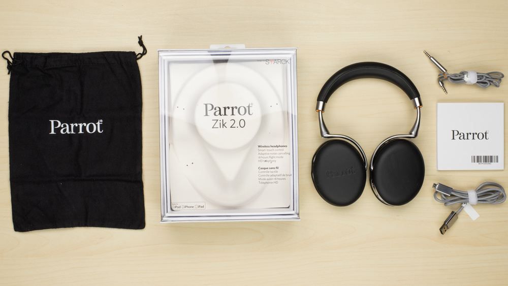 Parrot Zik 2.0 In the box Picture