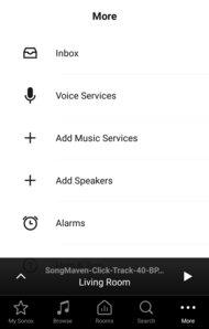 Sonos Playbar App image