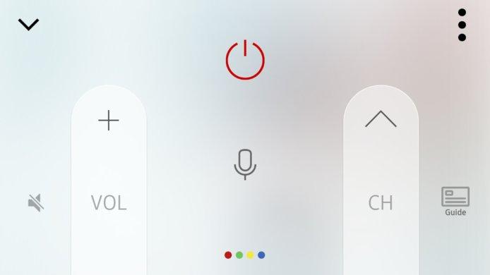 Samsung Q7F Remote App Picture