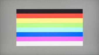 HP X24ih Color Bleed Horizontal