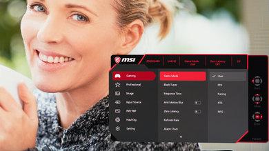 MSI Optix MPG27CQ OSD picture