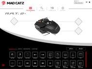 Mad Catz R.A.T. 2+ Software settings screenshot