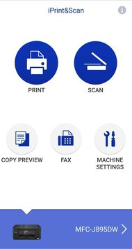 Brother MFC-J895DW App Printscreen