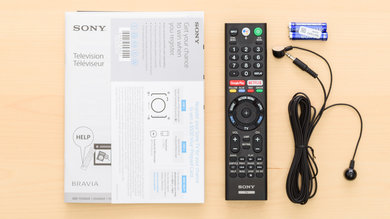 Sony X900F In The Box Picture