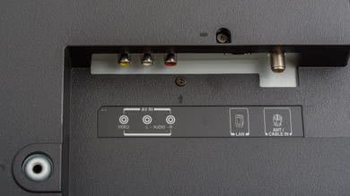 Toshiba Fire TV 2018 Rear Inputs Picture