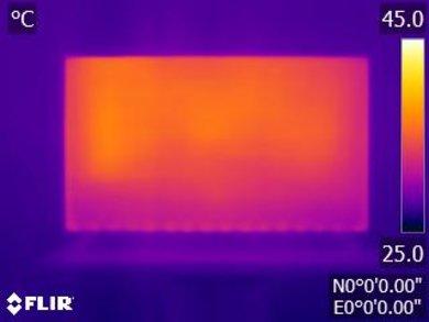 Vizio M Series 2017 Temperature picture