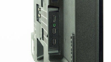 Sony W600B Side Inputs